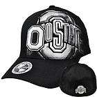 NCAA Ohio State Buckeyes Top of the World Black White Flex Stretch Fit