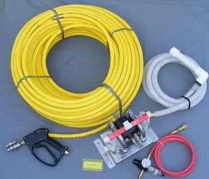 All Flo Air Diaphragm Pump, Hose, Gun Kit to START ROOF WASH BUSINESS