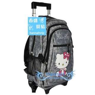 Hello Kitty Luggage Baggage Trolley School Bag FA085 5