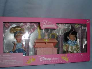 DISNEY PRINCESS TINY ROYAL BALLERINAS DOLLS NIB