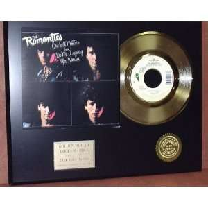 Gold Record Outlet Romantics 24kt Gold Record Display LTD