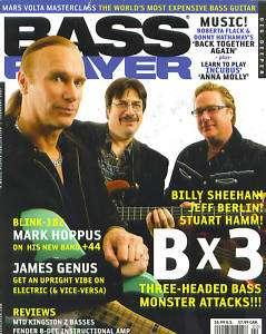 Bass Player Magazine February 2007 Sheehan Hamm Berlin