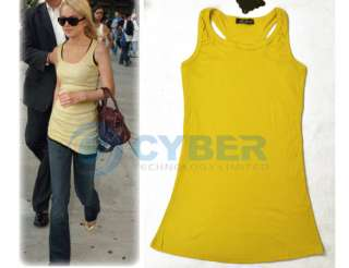 Leisure Loos 2PCS Off Shoulder Womens Top T Shirt&Vest