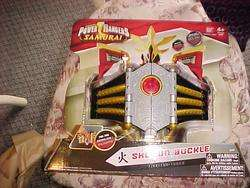 POWER RANGERS DELUXE SAMURAI SHOGUN BUCKLE NEW