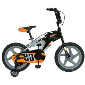 NASCAR Junior Nation Kids 16  Inch Bike, Black/Gray Sports & Outdoors