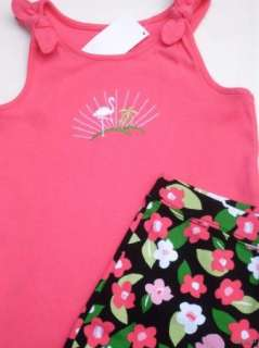 Gymboree Palm Beach Paradise Tank & Shorts Sz 7 NWT