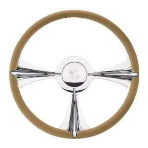 Billet Specialties P34096 15.5 Rail Half Wrap Profile Steering Wheel
