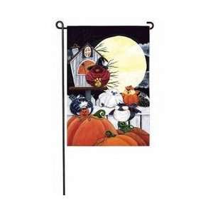 Halloween Portly Birds Banner: Patio, Lawn & Garden