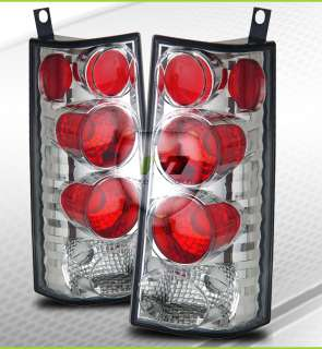 96 02 GMC Savana/Chevy Express Van Tail Lights Lamps