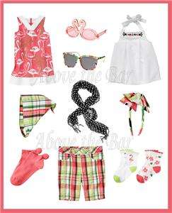 NWT Gymboree Palm Beach Paradise Dresses Shorts Socks Scarf Sunglasses