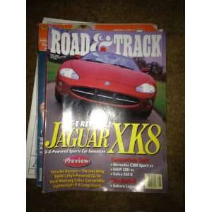 MAGAZINE   MAY 1996 ISSUE (JAGUAR XK8 COVER)  ROAD & TRACK Books