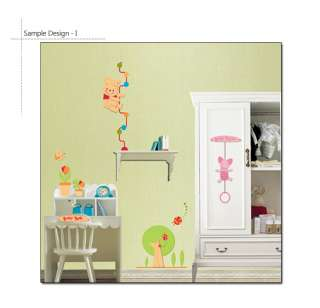 WINNIE THE POOH Nursery Kids Room Decor DIY Vinyl Wall Sticker