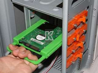 """HDD TO 3.5"""" Mounting Adapter Bracket Dock For PC SSD Holder ATX Case"""