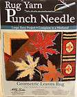 NIB LARGE MCG TEXTILES RUG YARN PUNCH NEEDLE KIT 27 X 20