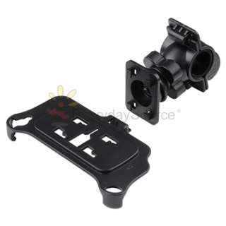 Black Bicycle Bike Handlenar Phone Mount Holder Cradle for iPhone 4 4G