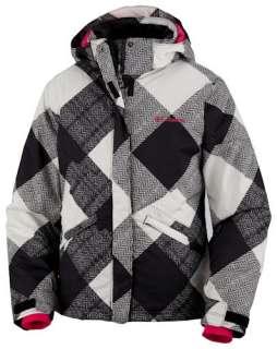 Girls COLUMBIA Ski Jacket~7/8~Small~Black~New w/Tags