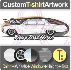 shirt for 1962 Chevy Chevrolet Bel Air Biscayne Impala SS 409 210 Fans