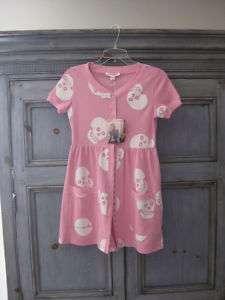 Betsey Johnson cotton pink mini dress size P New