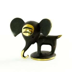 Walter Bosse Brass Elephant Figurine