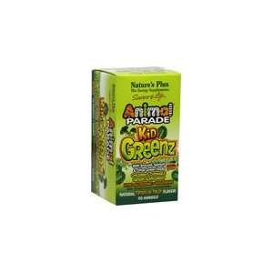 Animal Parade Kids Greenz 90 Chewables: Health & Personal