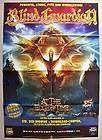 BLIND GUARDIAN / AT THE EDGE OF TIME 2010 LARGE POSTER