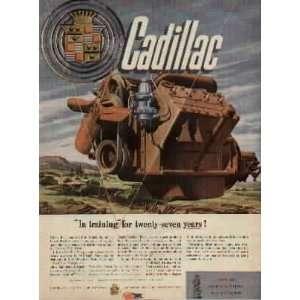 Cadillac Flat Head V 8 Engine, In training for twenty seven years