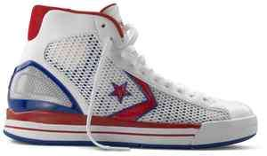 Converse Star Player EVO Red/White/Blue Basketball Shoes Mens #121429