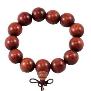 Huge Wooden Prayer Beads Wrist Mala: Arts, Crafts & Sewing
