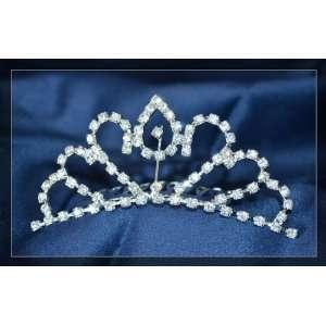 Rhinestones Crystal Wedding Bridal Crown Tiara with Comb T05 Beauty