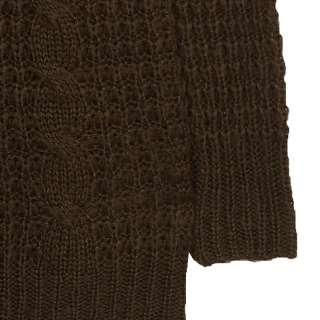 Vancl Nina Chunky Cable Knit Sweater (Women/Ladies) XS S M L Deep