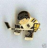 Boston Bruins NHL Hockey Sports Brat Player Pin