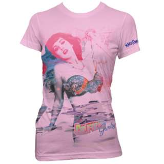 KATY PERRY WATERCOLOR JUNIOR TEE SHIRT S M L XL