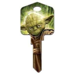 Star Wars Yoda Kwikset House Key (KW SW2): Home & Kitchen