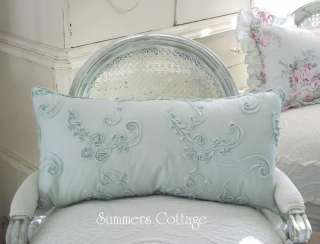 SHABBY FRENCH COTTAGE ROSES CHIC KING BED DUVET & SHAMS