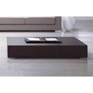 Modloft MD400 WAL Mott Coffee Table in Walnut Furniture