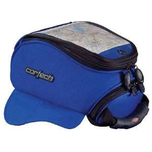 Tourmaster Cortech Super Mini Magnetic Tank Bag Blue 82