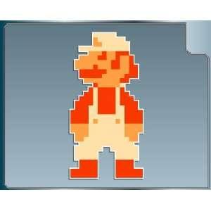 Mario 8 bit from Super Mario Bros. vinyl decal sticker 4 Everything