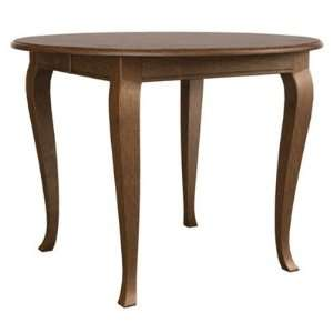 Oval Counter Table with 36 Cabriole Legs in Honey