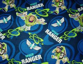 BUZZ LIGHTYEAR SPACE RANGER NURSE & VET SCRUB TOP