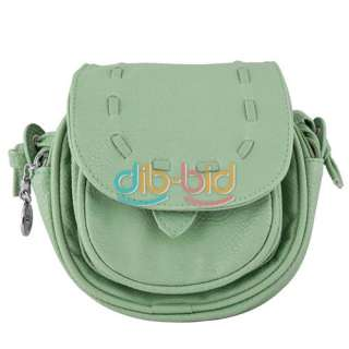 New Lovely Cute Girl PU Leather Mini Small Adjustable Shoulder Bag
