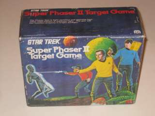 Star Trek Super Phaser II Target Game in Box Mego Vintage
