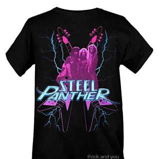 Steel Panther Electric metal rock T Shirt S XL 2XL NWT
