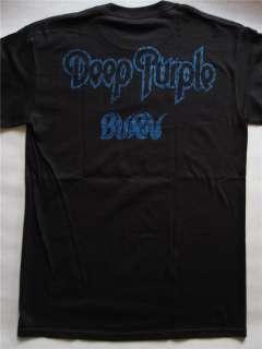DEEP PURPLE   BURN / DAVID COVERDALE T SHIRT