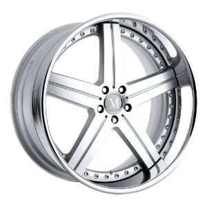 22x10 Mandrus Stuttgart (Silver) Wheels/Rims 5x112 (2210MAS415112S66)