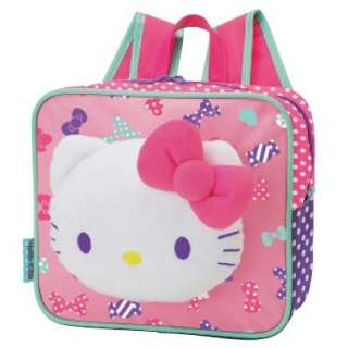 kitty plush backpack ribbon material polyester size approx h 9 x l 4