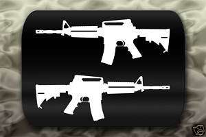 M4 Carbine Gun decal sticker rifle
