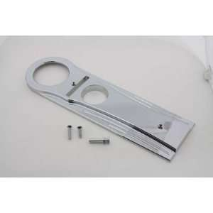 Chrome Billet Aluminum Tank Panel Dash Cover for 94 00 FLHR Big