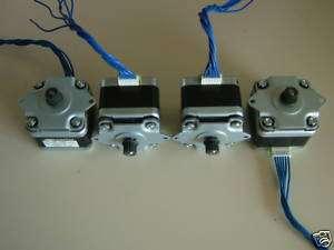 Stepper motors   DIY CNC ROUTER MILL LATHE ROBOT