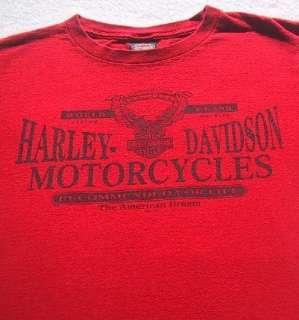 HARLEY DAVIDSON MOTORCYCLES st. charles, il MEDIUM T SHIRT zylstra