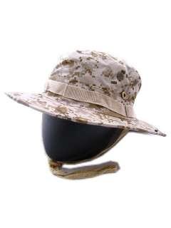 USMC Army Digital Desert Camo MILSPEC Boonie Hat Cap